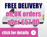 Free Mainland UK Delivery On Orders Over £57.00 - All pages