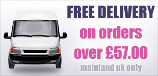 FREE Delivery on orders over £57.00 to mainland UK only
