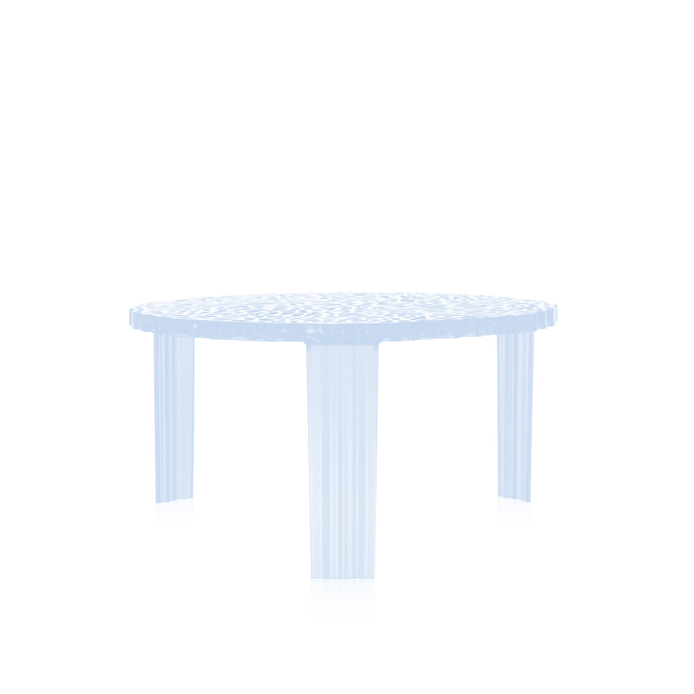 Kartell T-Table Coffee Table 28cm Height