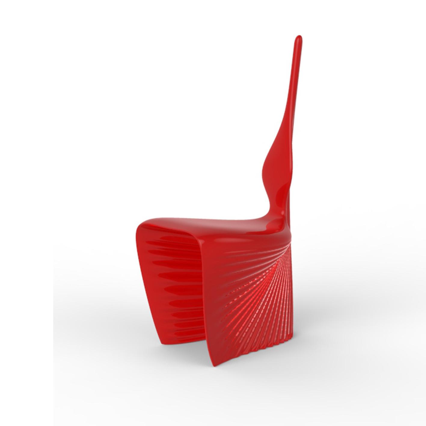 vondom biophilia chair lacquered navy 1762v41 biophilia