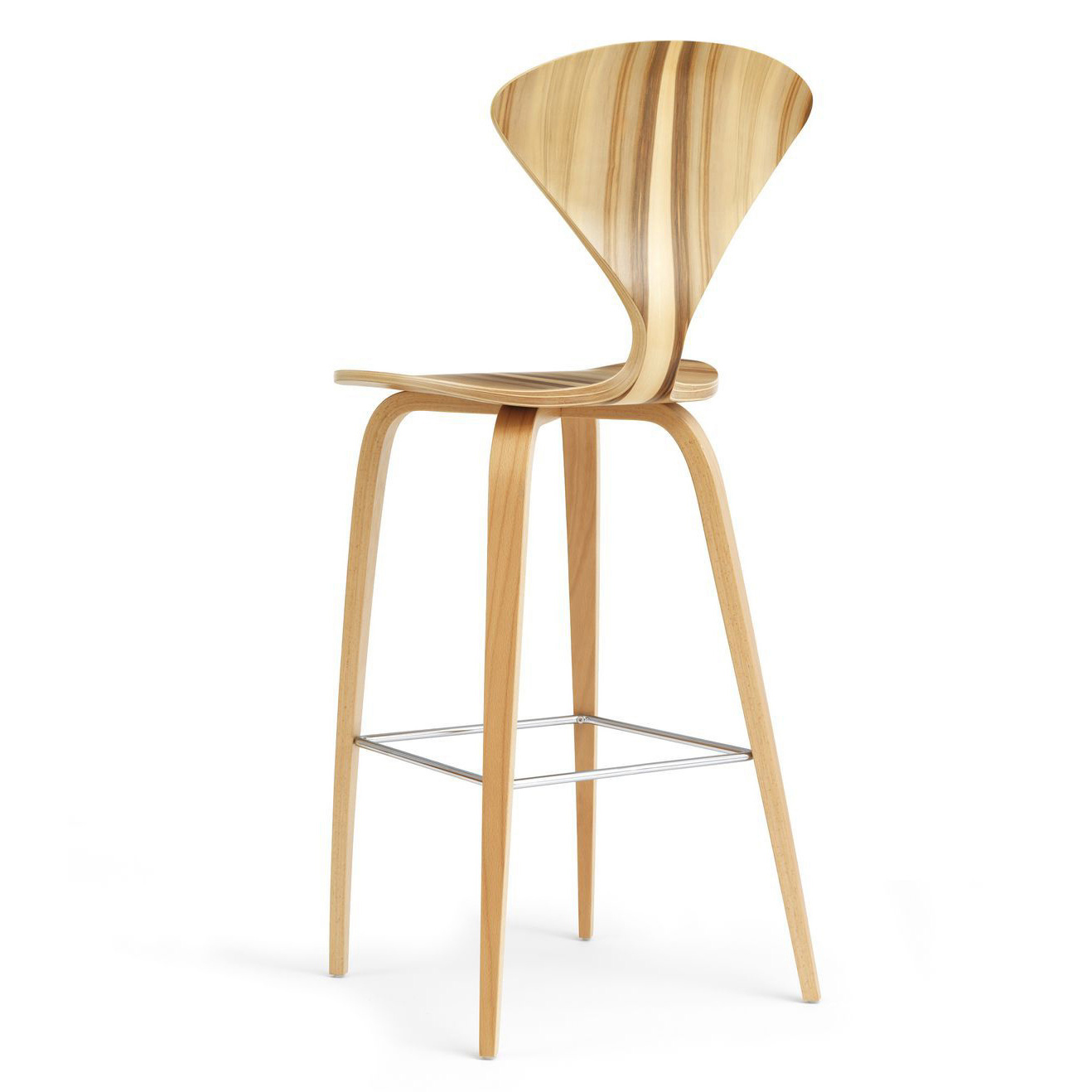Cherner Bar Counter Stool With Wooden Legs The Original