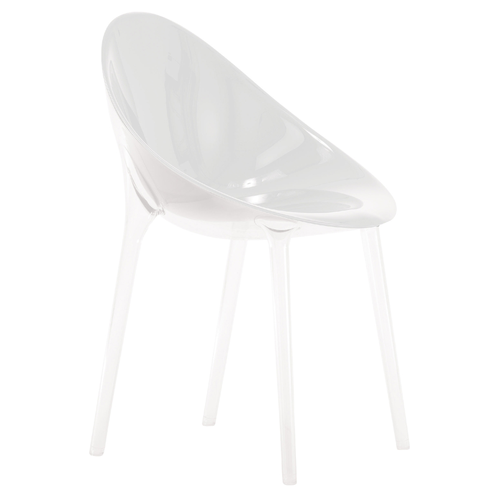 kartell mr impossible chair  designed by philippe starck  eugeni  -  kartell mr impossible chair