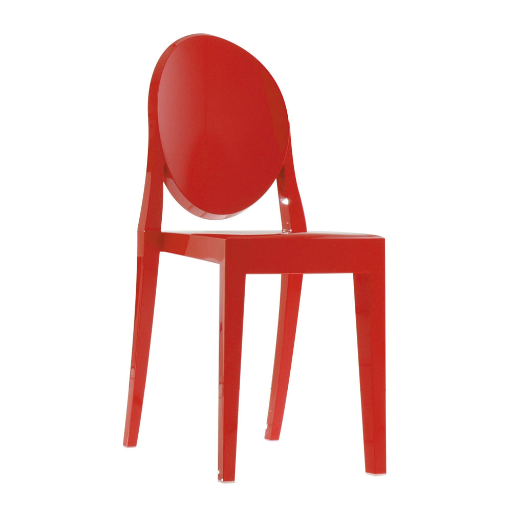 ... Kartell Victoria Ghost Chair   Elegant Dining Chair By Philippe Starck  ...