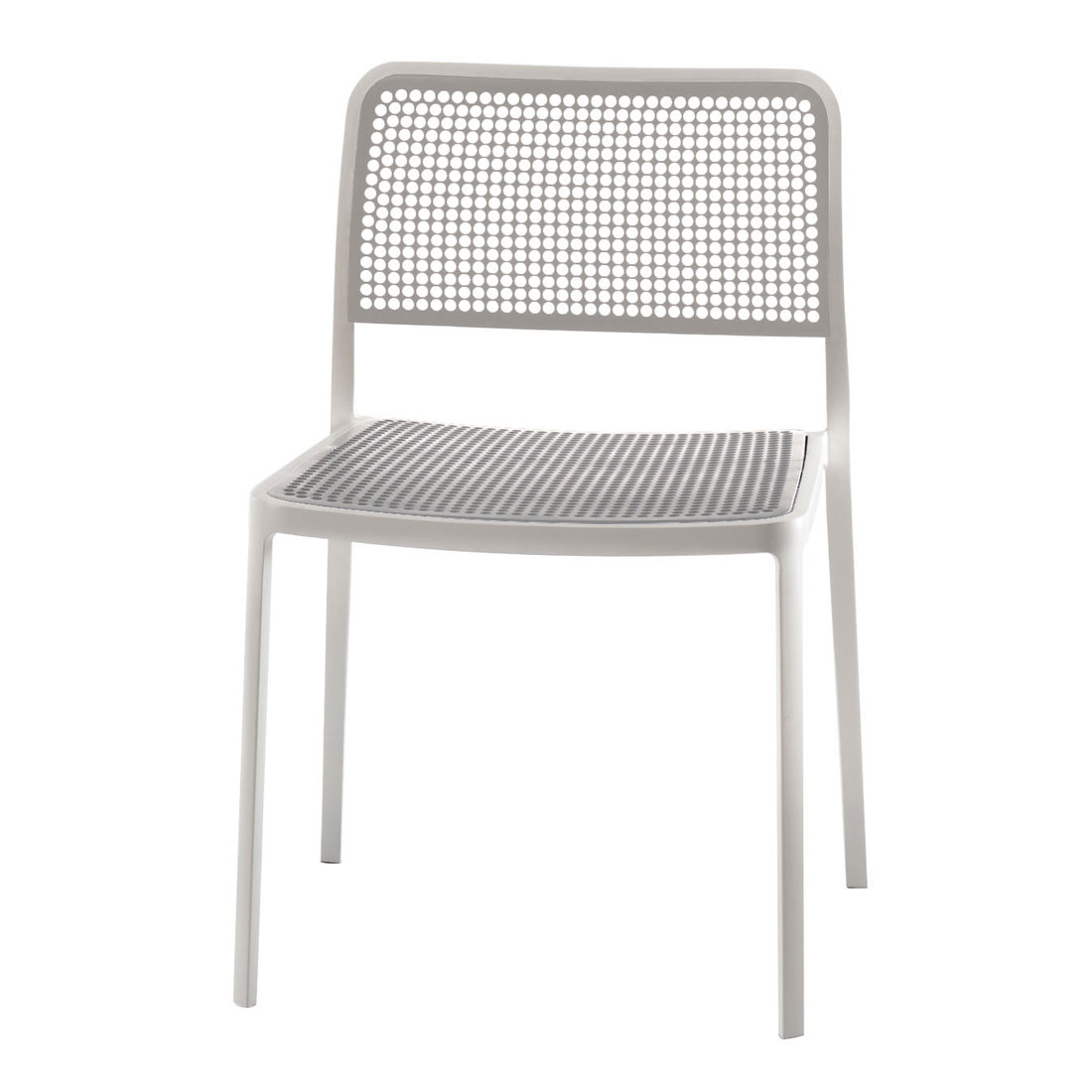 Amazing Kartell Audrey Outdoor Mesh Dining Chair   Stack Up To 7 High ...