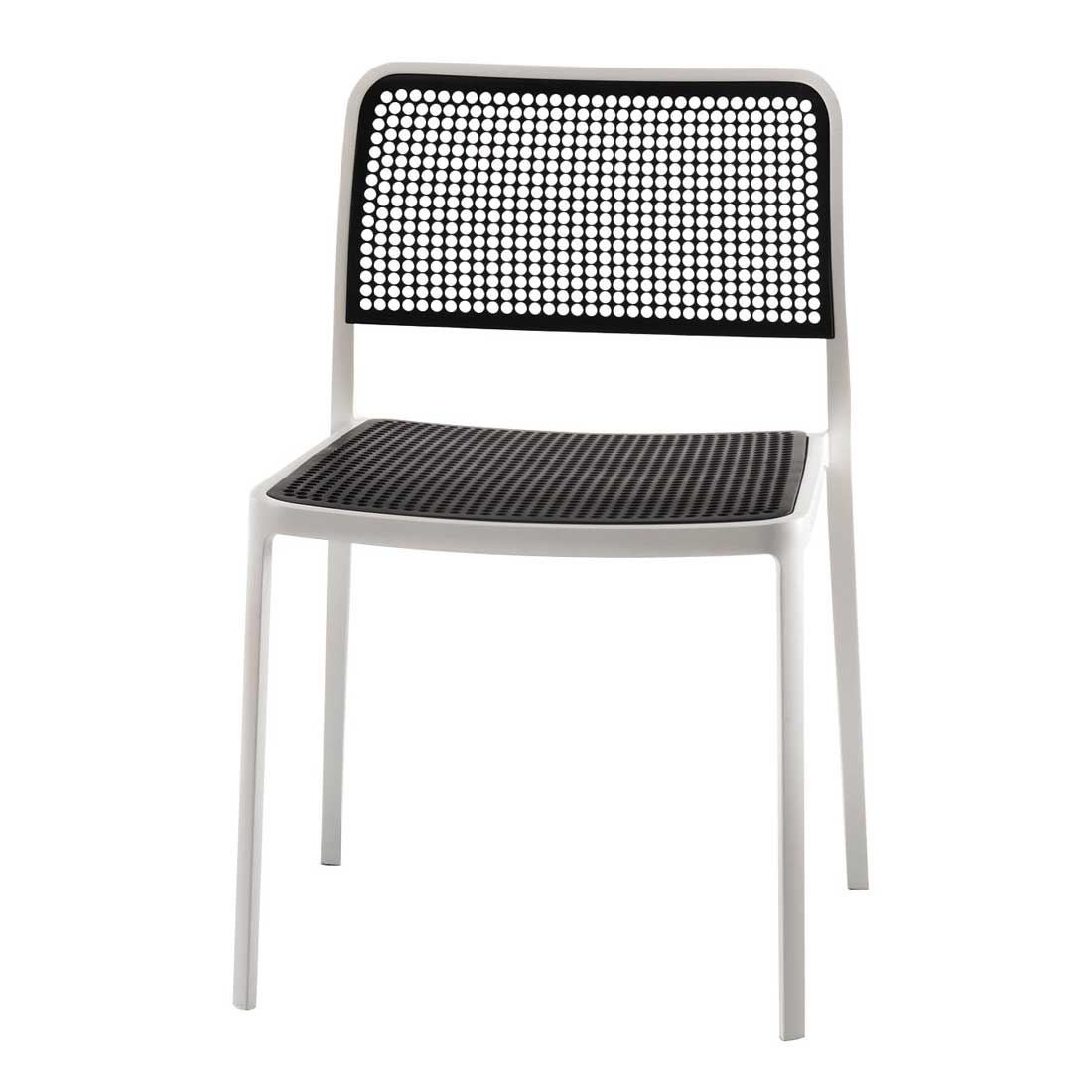 Sensational Kartell Audrey Outdoor Mesh Dining Chair Stack Up To 7 High Inzonedesignstudio Interior Chair Design Inzonedesignstudiocom