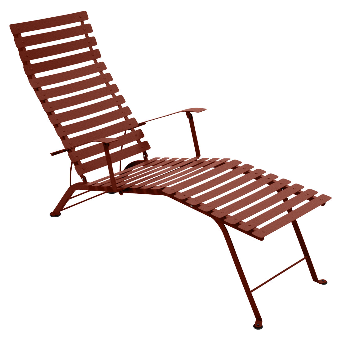 Fermob Bistro Chaise Longue Sunlounger - 3 Year Guarantee