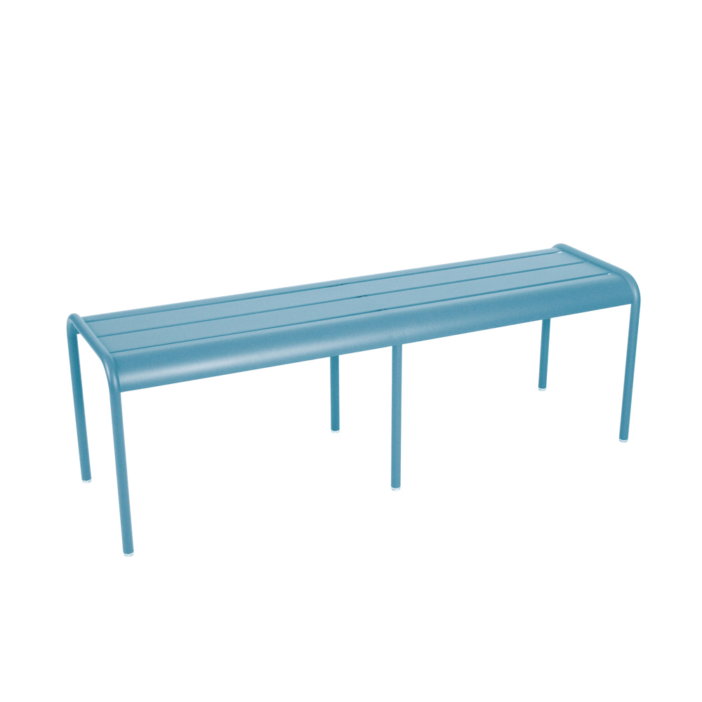 Favorite Fermob Luxembourg 3/4 Seater Garden Bench - Contemporary & Colorful AA79
