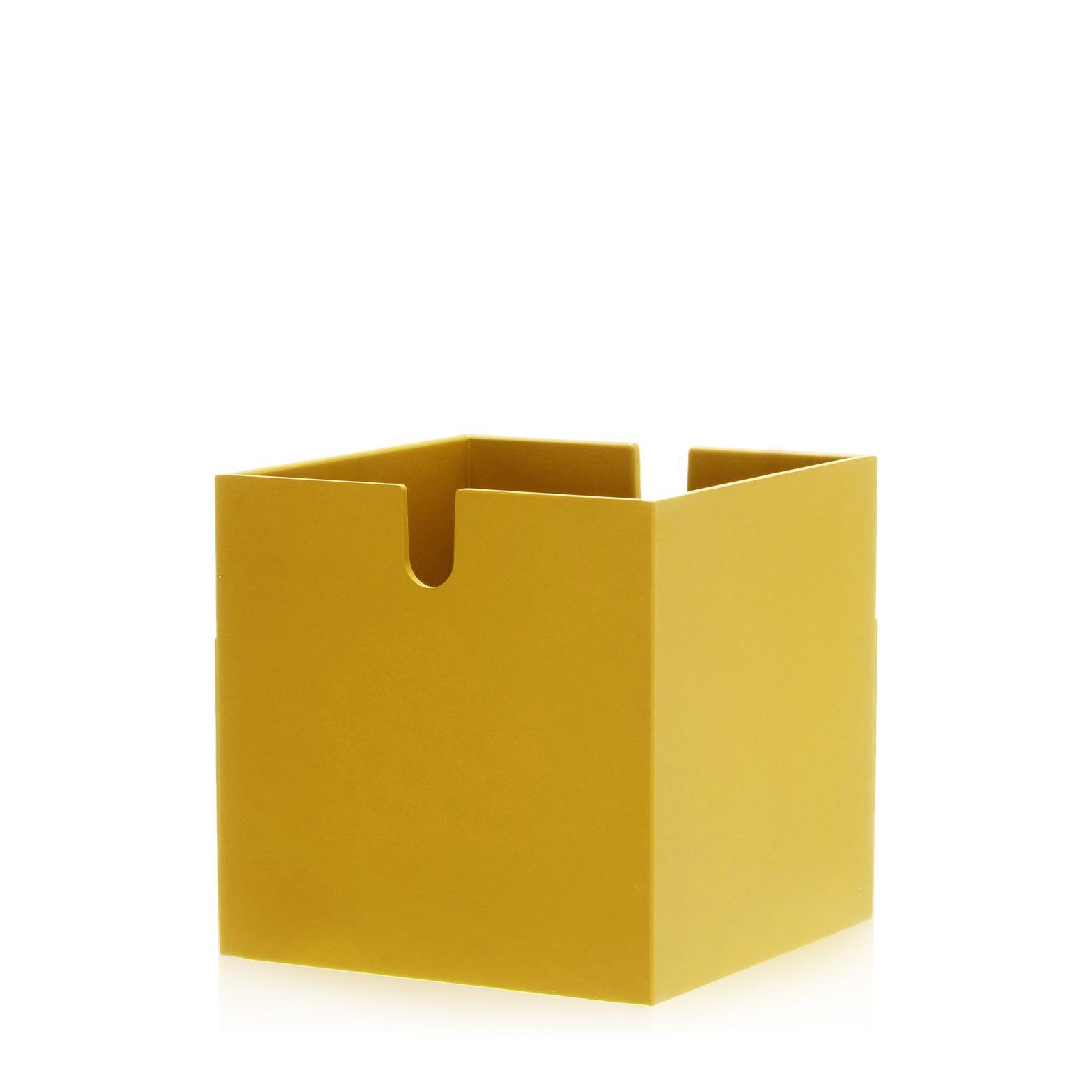 Kartell Polvara Modular Bookshelf Cube Drawer