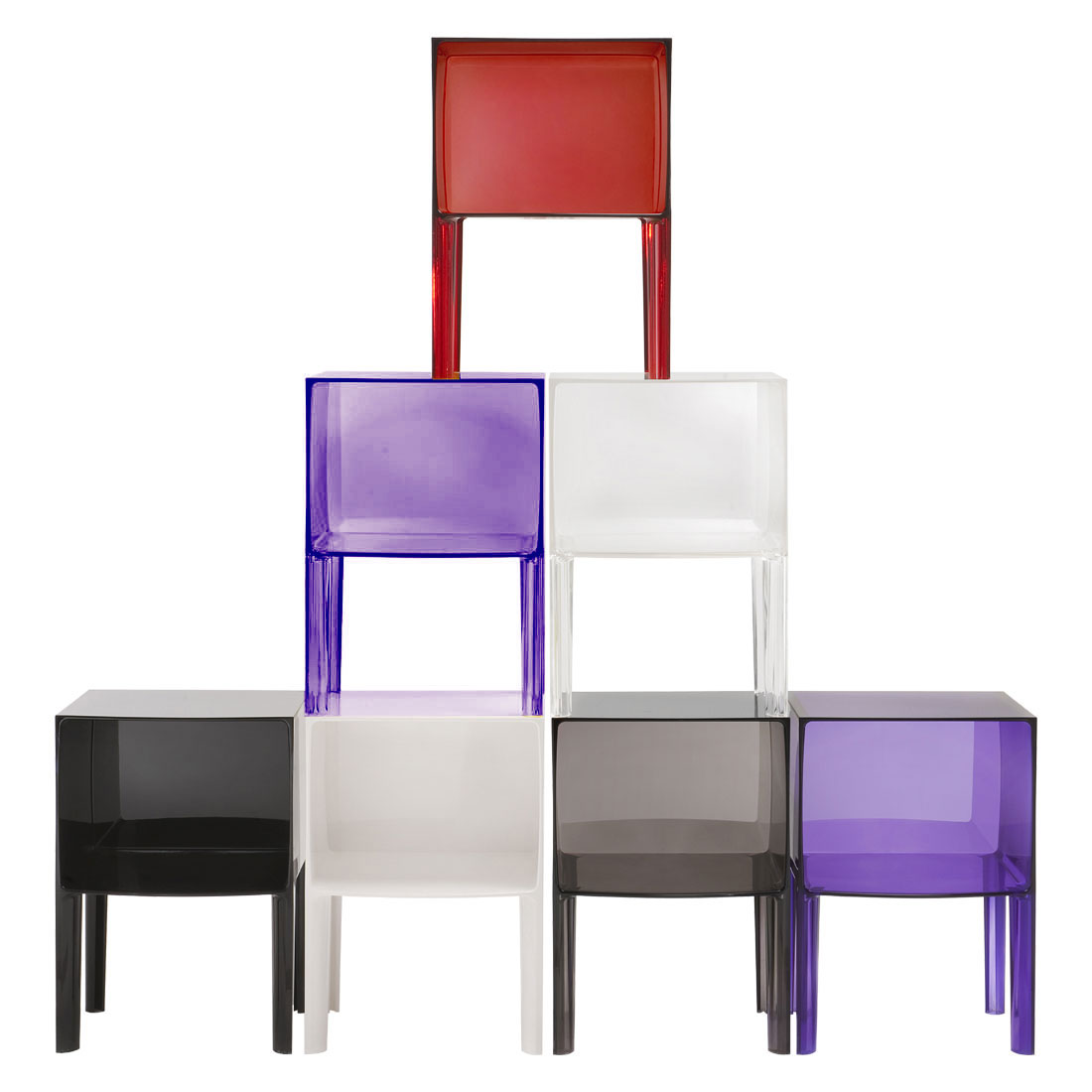 Kartell Ghost Buster cabinet side table designed Philippe Starck ...