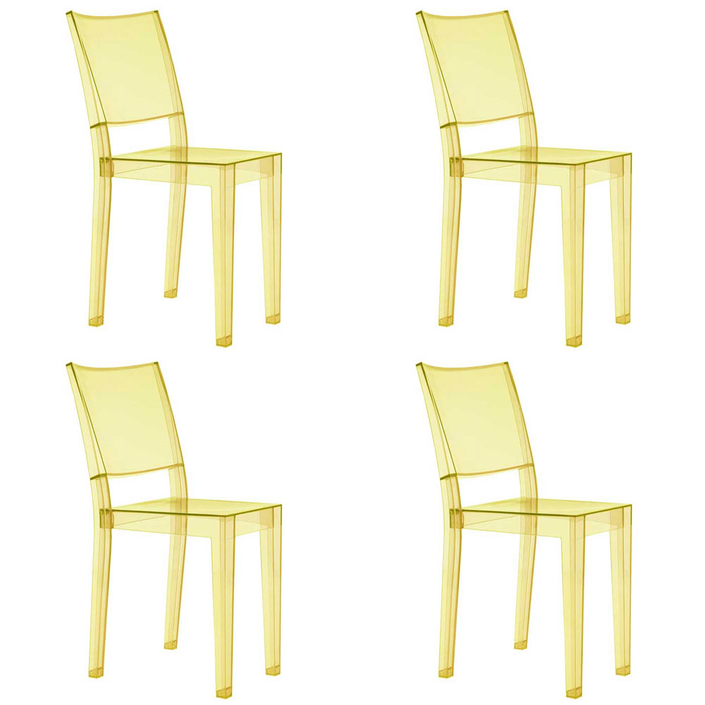 Kartell La Marie chair set of 4 - La Marie chair designed by ...
