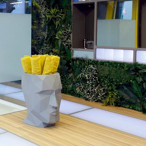 Vondom ADAN Gloss Lacquered Planter - 3 Sizes | FREE Shipping