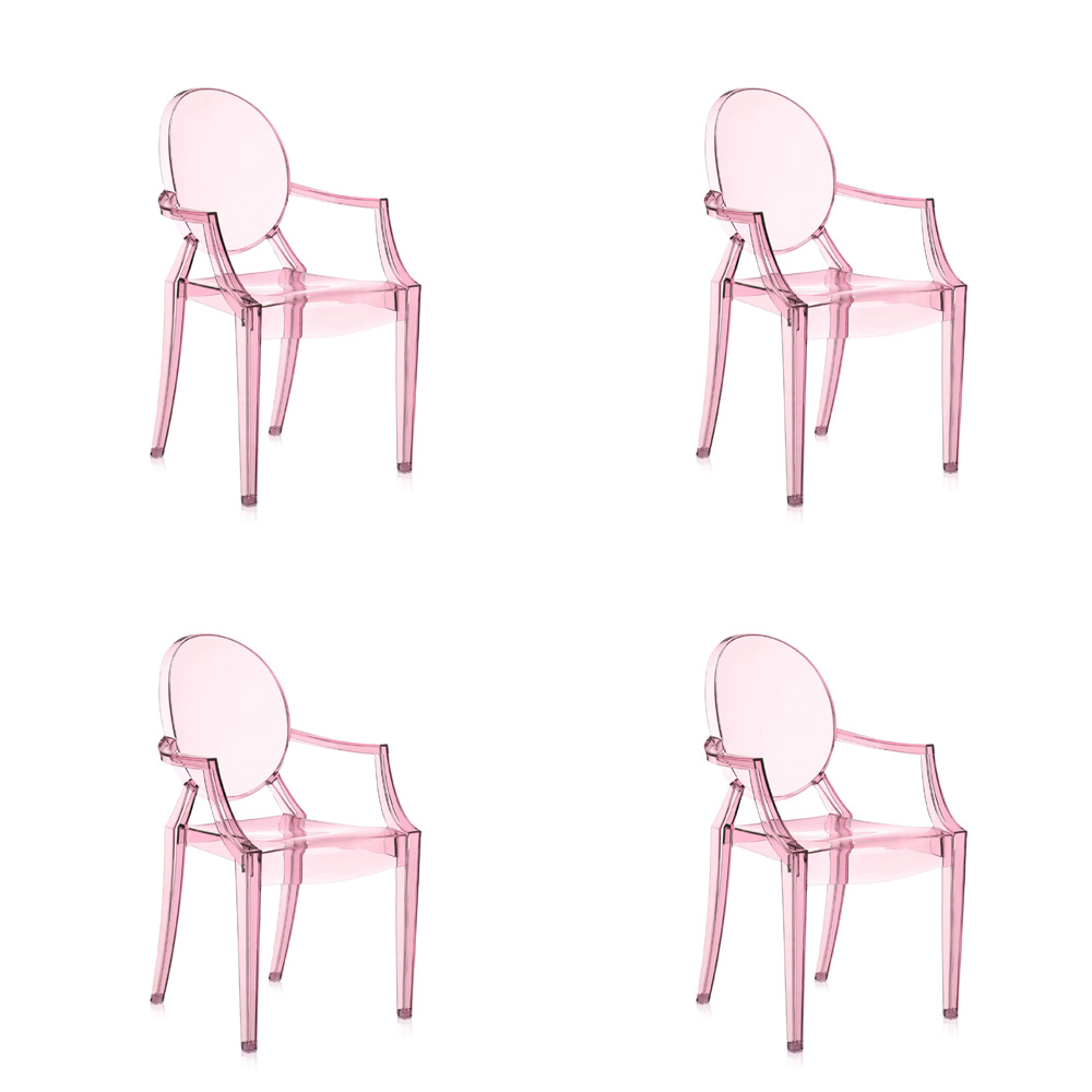 ... Kartell Lou Lou Ghost Chair (Set Of 4) ...