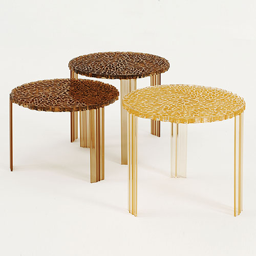 ... Kartell T Table Coffee Table (H28cm) ...