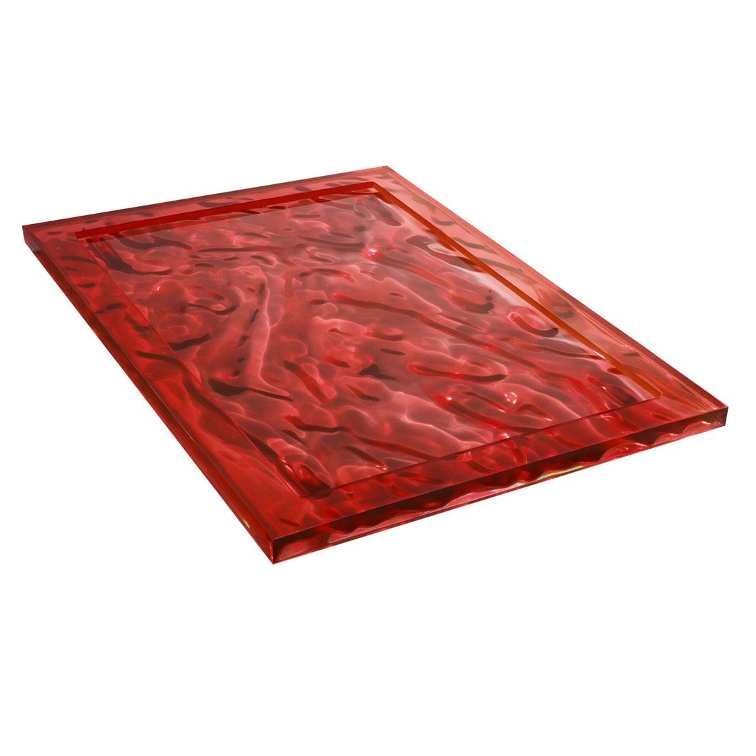 kartell dune tray  designed by mario bellini -  kartell dune tray