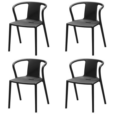 magis air armchair set of 4 a stacking armchair by jasper morrison