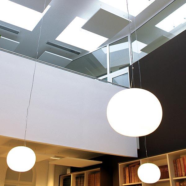 Flos Glo-Ball S1 pendant light | Medium Glo-Ball suspension light