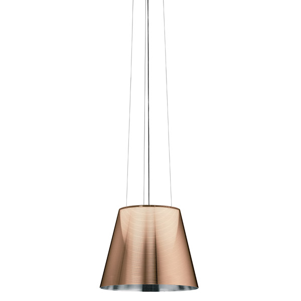 Flos ktribe s2 bronze pendant light flos ktribe s2 bronze mozeypictures Image collections
