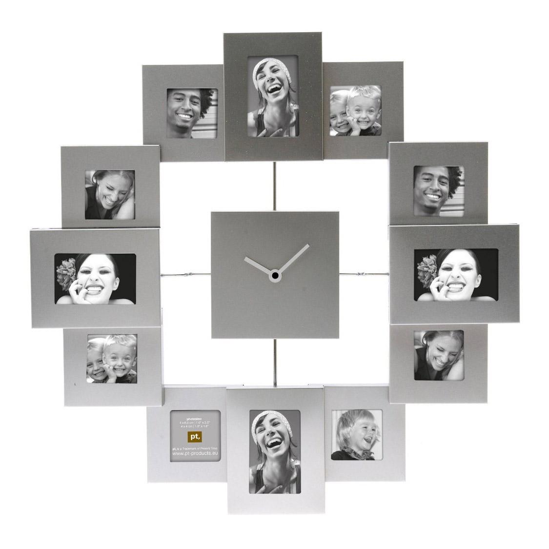 Present Time Photo Frame Clock