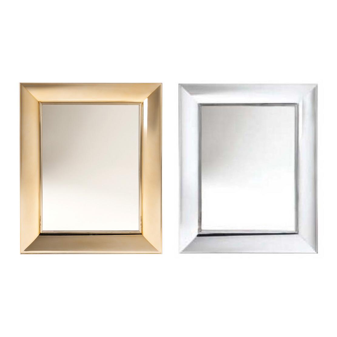 kartell francois ghost metallic mirror -