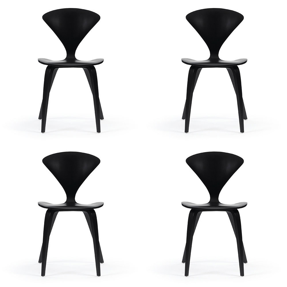 cherner chairs set of 4 an original norman cherner chair
