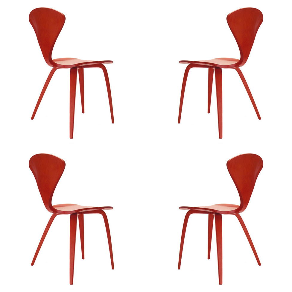 cherner furniture. Cherner Chairs Set Of 4 An Original Norman Chair Furniture