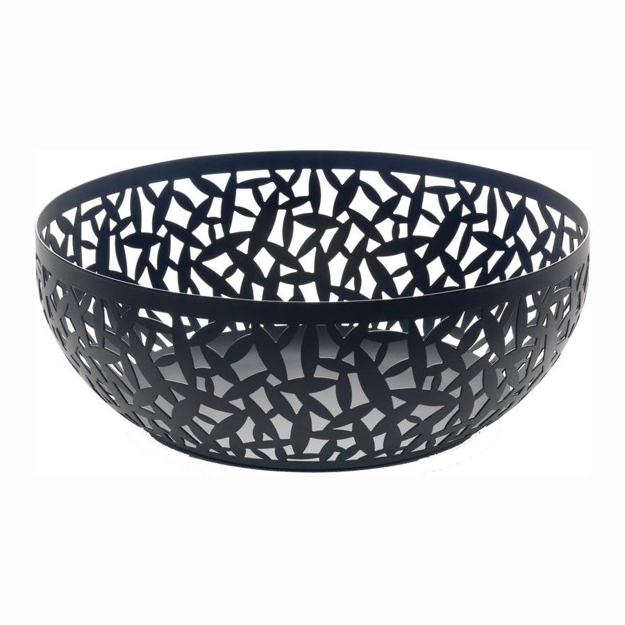 Buy Online Alessi CACTUS! Fruit Bowl, Black - Large (29cm)