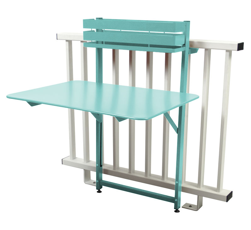 Fermob Bistro Balcony Folding Table - 23 Vibrant Colours