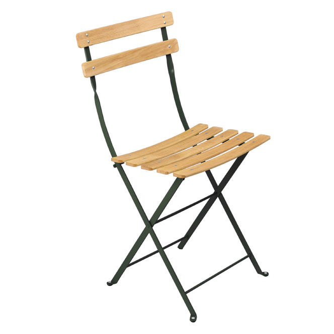 Fermob Bistro Folding Chair NATUREL   24 Vibrant Lacquered Colours ...