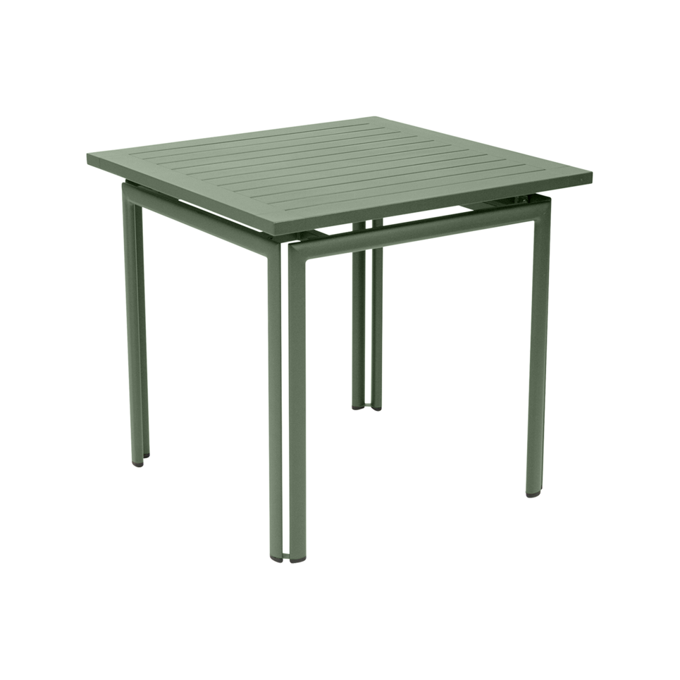 Square Table For 4 Part - 39: Fermob Costa Square Table (80 X 80cm) - Aluminium Garden Table For 4