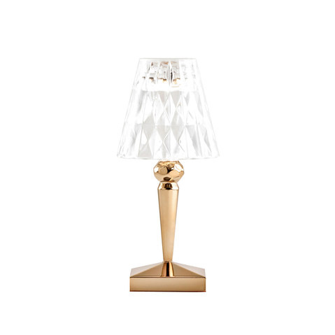 kartell battery table lamp metallic rechargeable by ferruccio laviani battery lamps ferruccio laviani