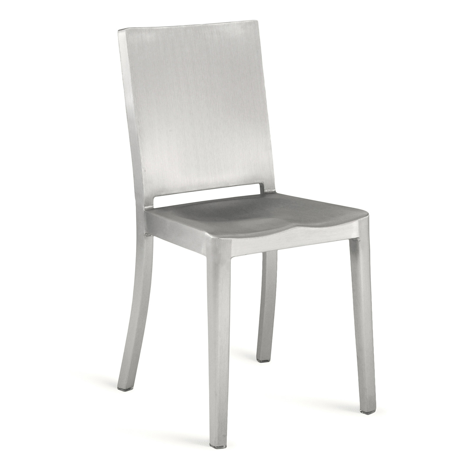 Emeco Hudson Chair Aluminium Brushed Designed by Philippe Starck