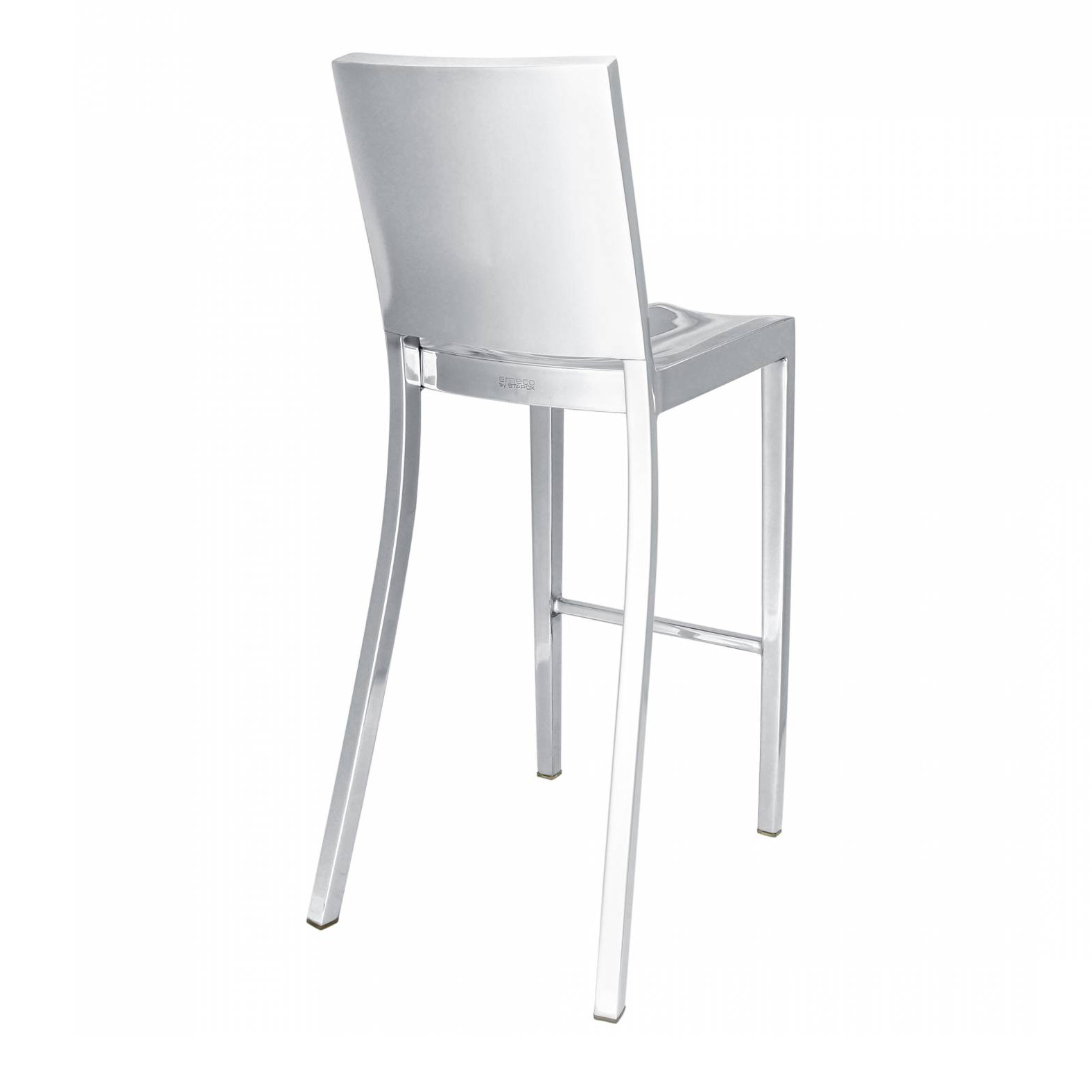 Outstanding Emeco Hudson Bar Stool Aluminium Polished By Philippe Starck Caraccident5 Cool Chair Designs And Ideas Caraccident5Info
