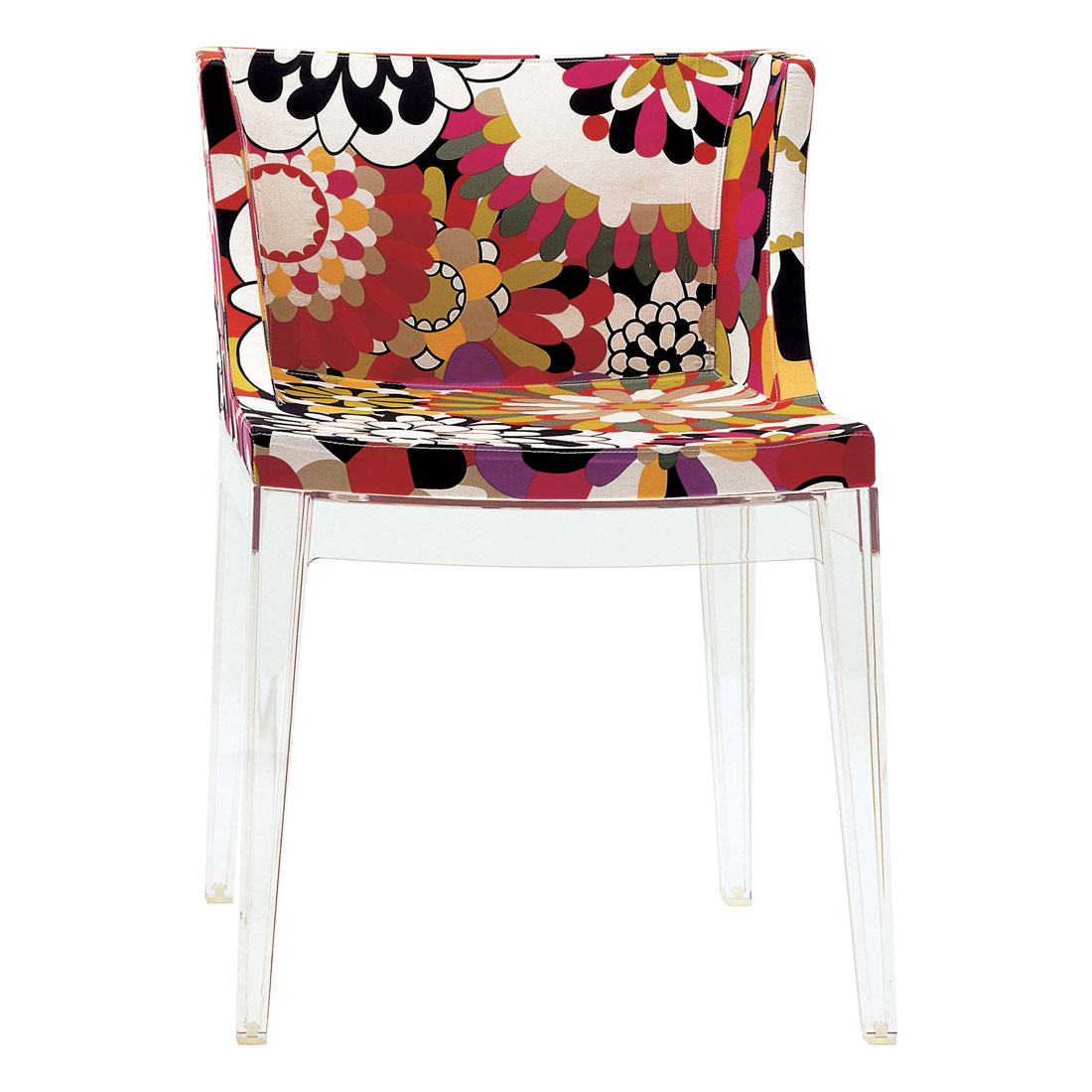 kartell mademoiselle missoni chair  vevey red -