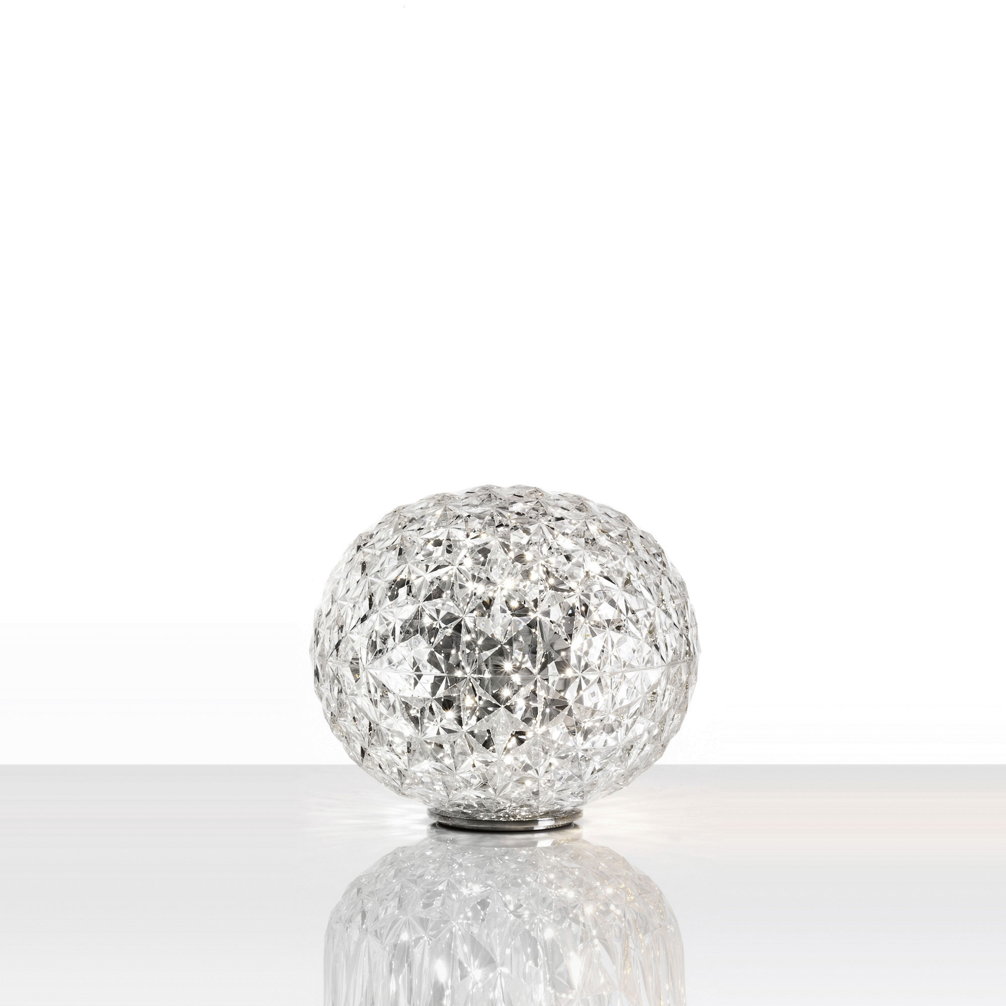 Kartell planet low table light a sphere that feeds on refractions aloadofball Choice Image