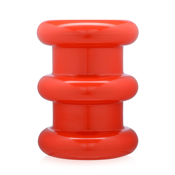 Kartell Pilastro Stool A Low Stool By Ettore Sottsass Red