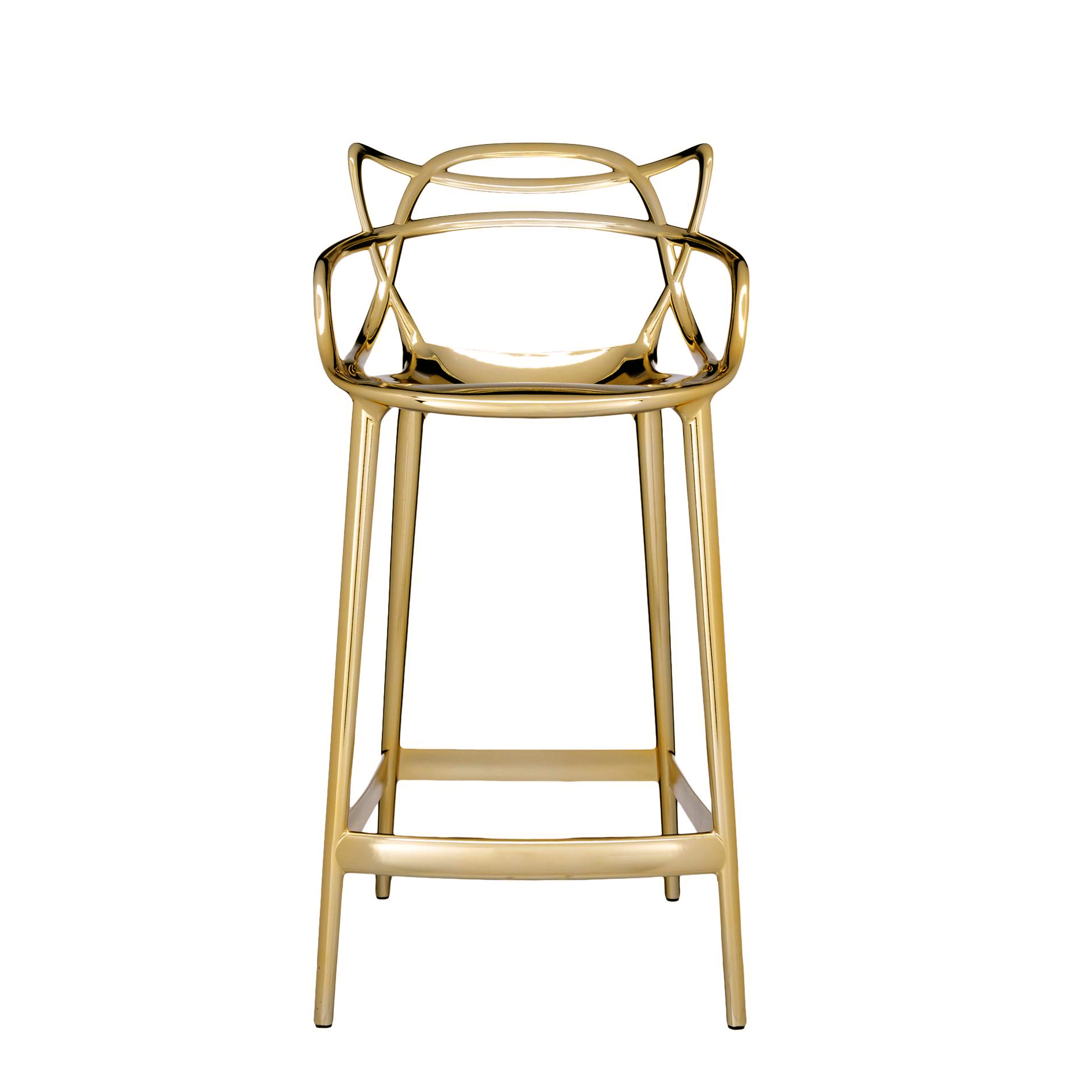 Kartell Masters Stool 65cm Special Metallic Version