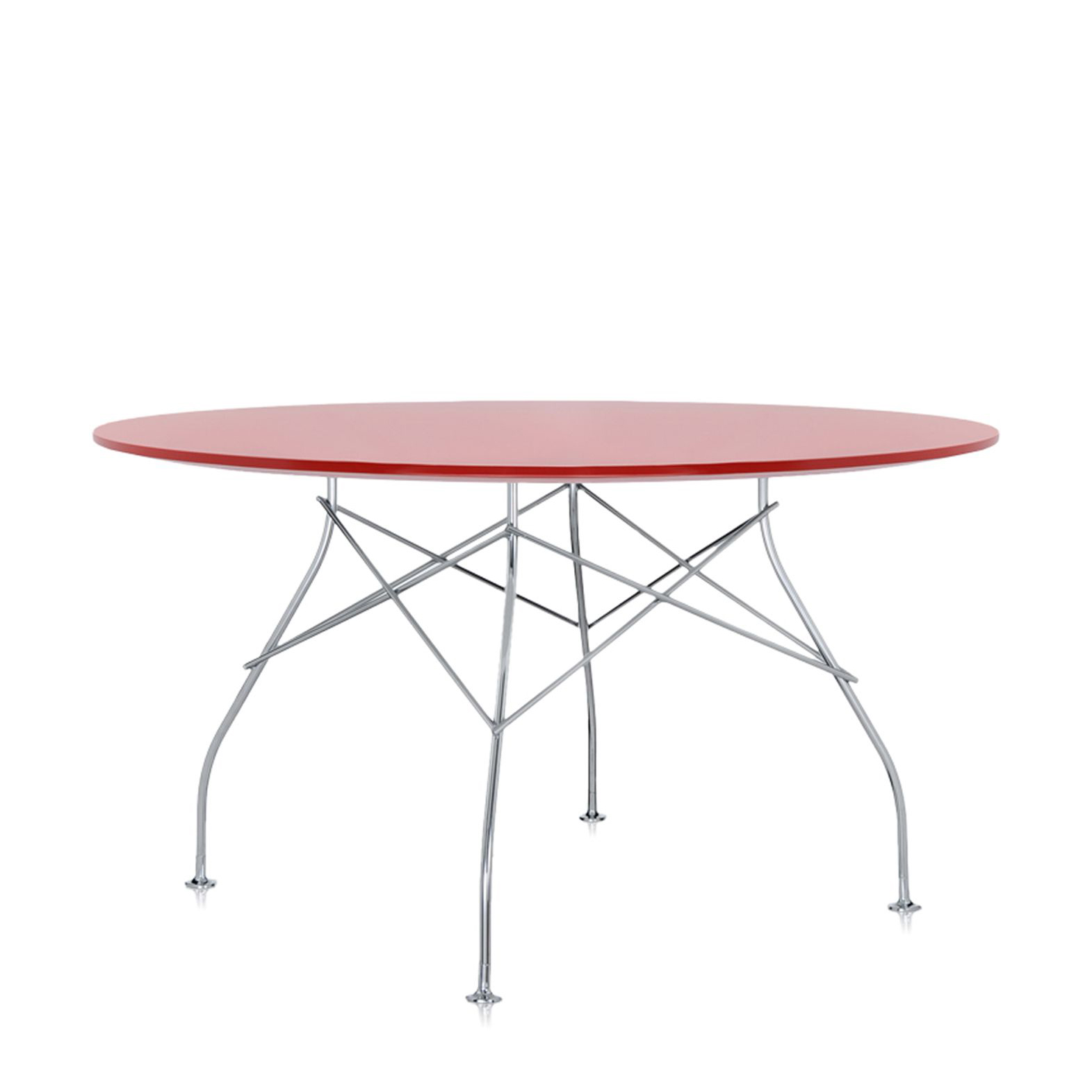 Kartell Round Table Glossy Round Table Versatile Table For The Home Office