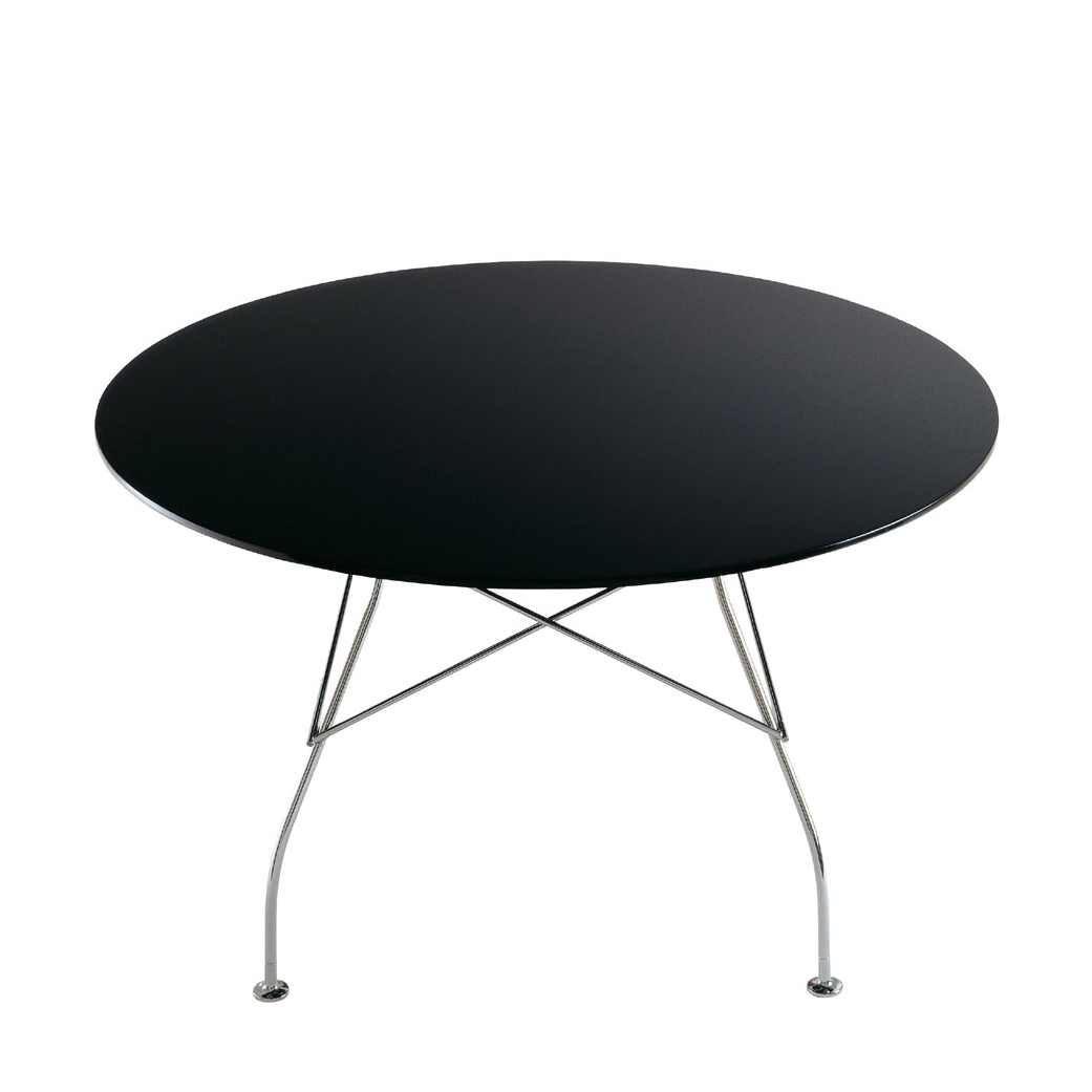 Glossy Round Table Versatile Table for the Home Office