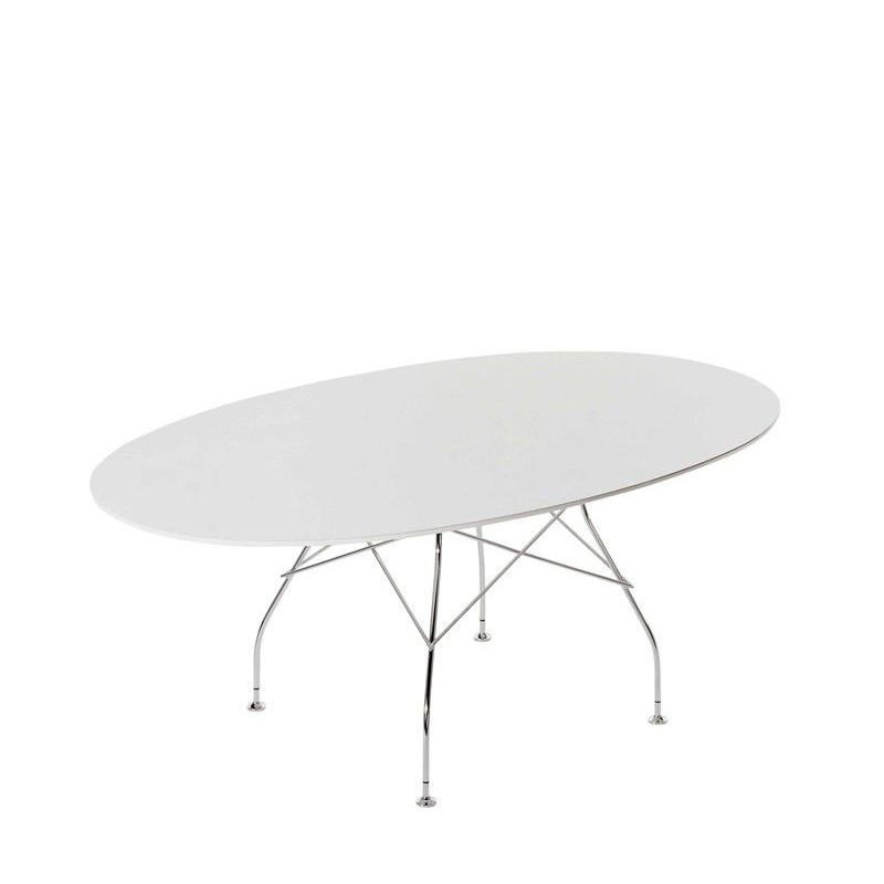 Glossy Oval Table - Many Table Top / Base Combinations