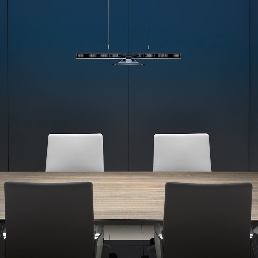 Dyson light cu beam down suspension light radically new office l dyson light