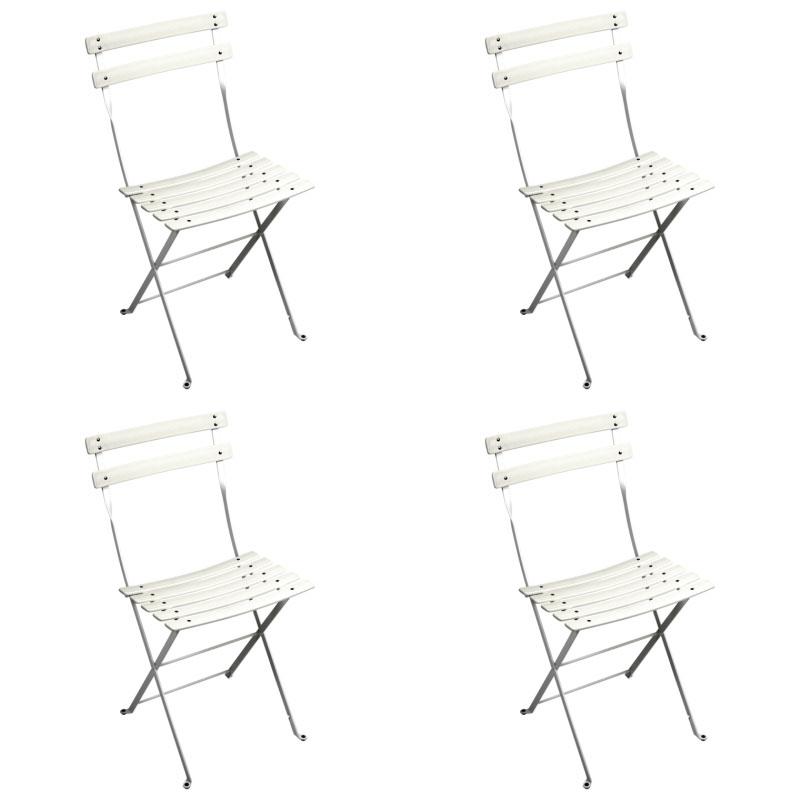 fermob bistro duraflon folding chair set of 4 free uk delivery
