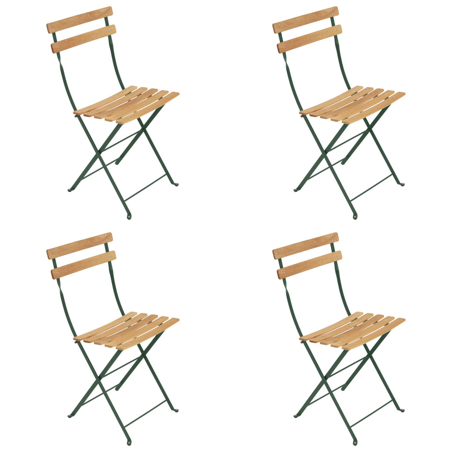Amazing Fermob Bistro Folding Chair NATUREL (Set Of 4)   FREE Shipping