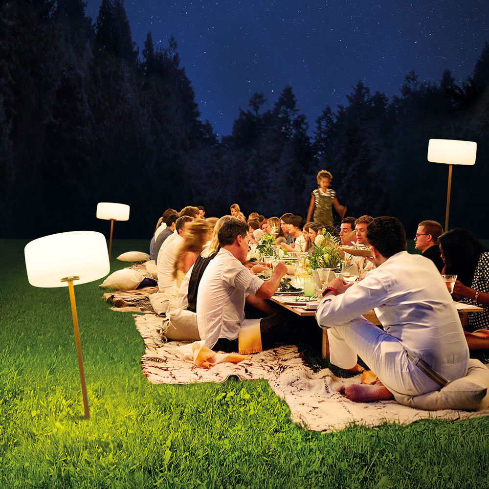 Fatboy thierry le swinger rechargeable led outdoor light taupe aloadofball Images