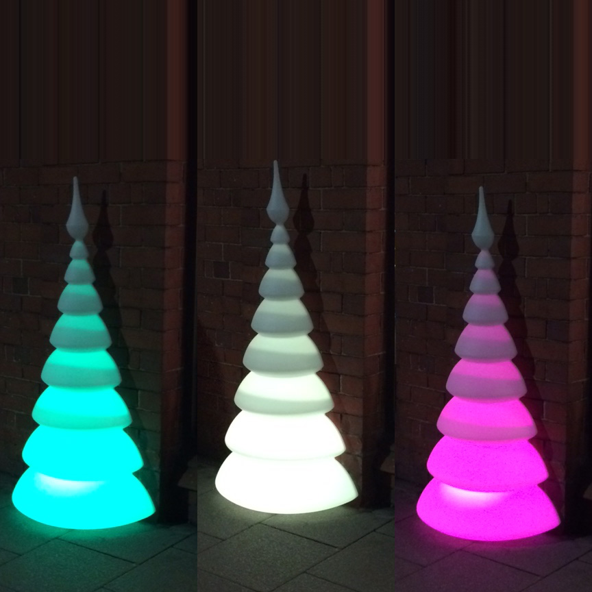Outdoor Light Up Christmas Tree.Myyour Treesmust Rechargeable Led Christmas Tree