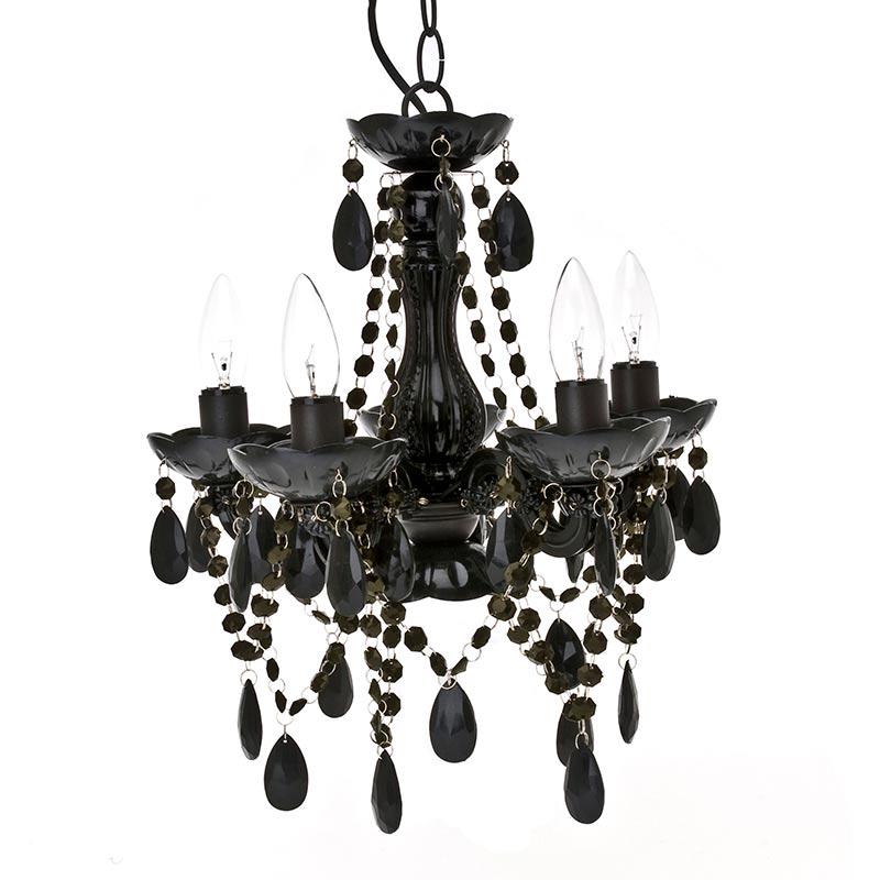 Present time gypsy small black chandelier lamp aloadofball Gallery