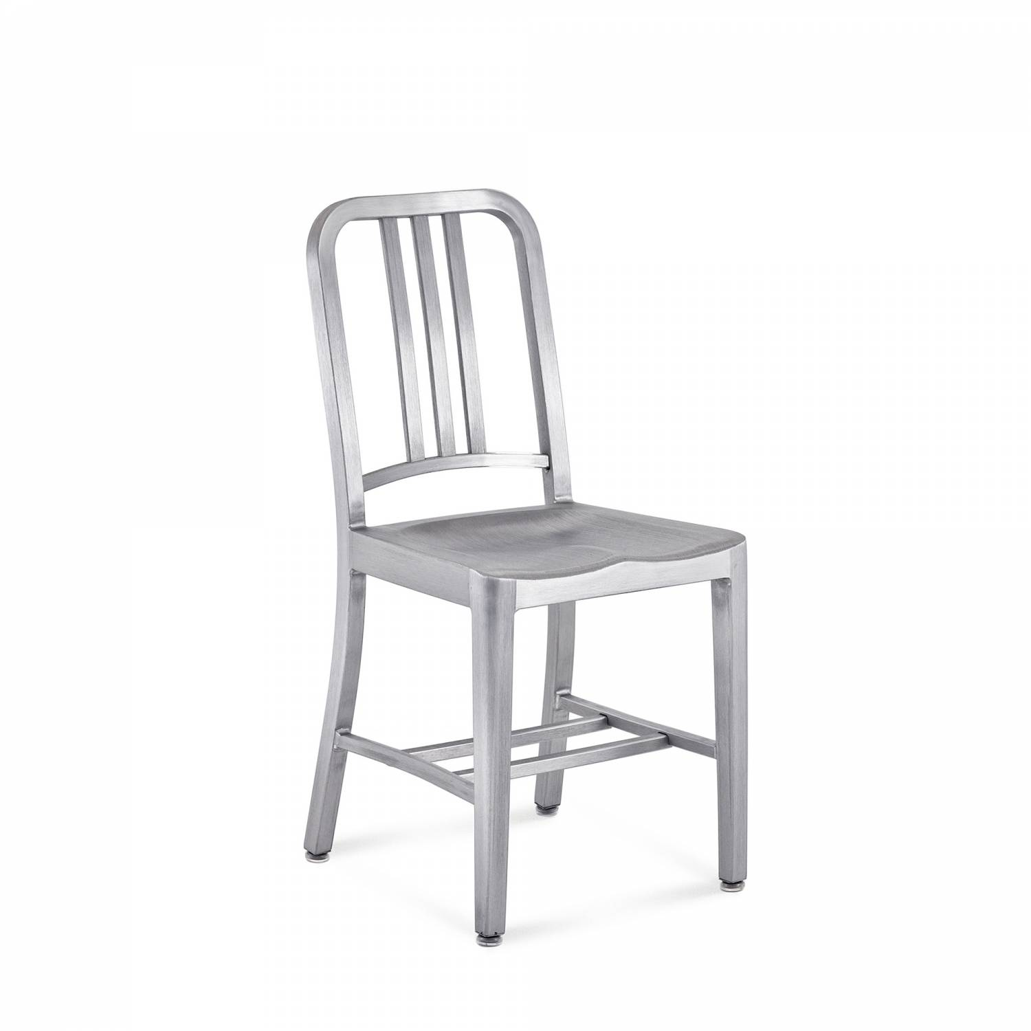1006 navy chair (recycled aluminium) - made to order by hand