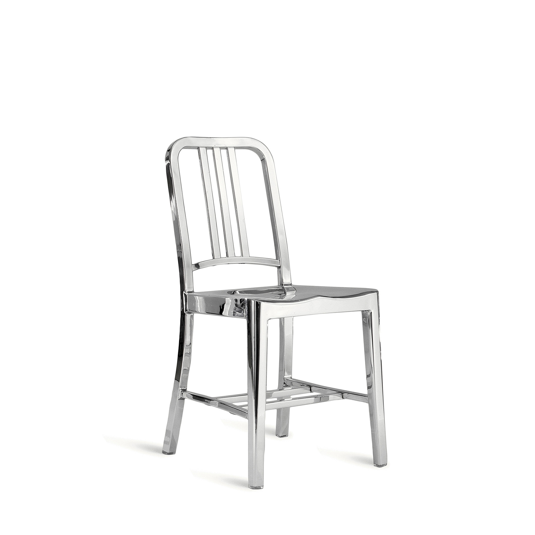 1006 Navy Chair Recycled Aluminium Made to Order by Hand