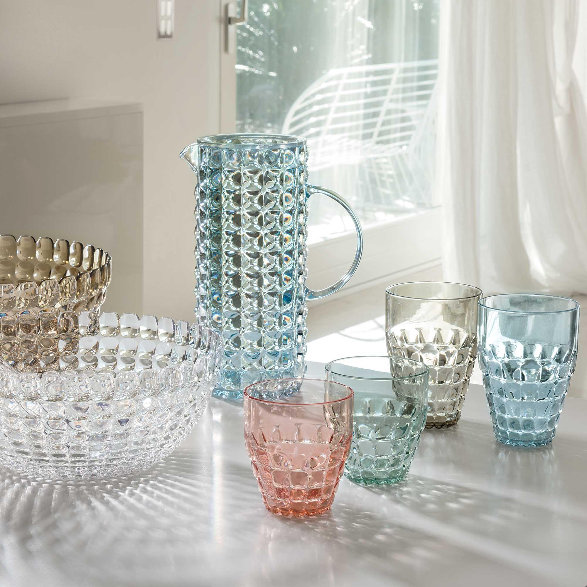 guzzini tiffany  Guzzini Tiffany Low Plastic Tumblers (Set of 6 - Same Colour) (350ml)