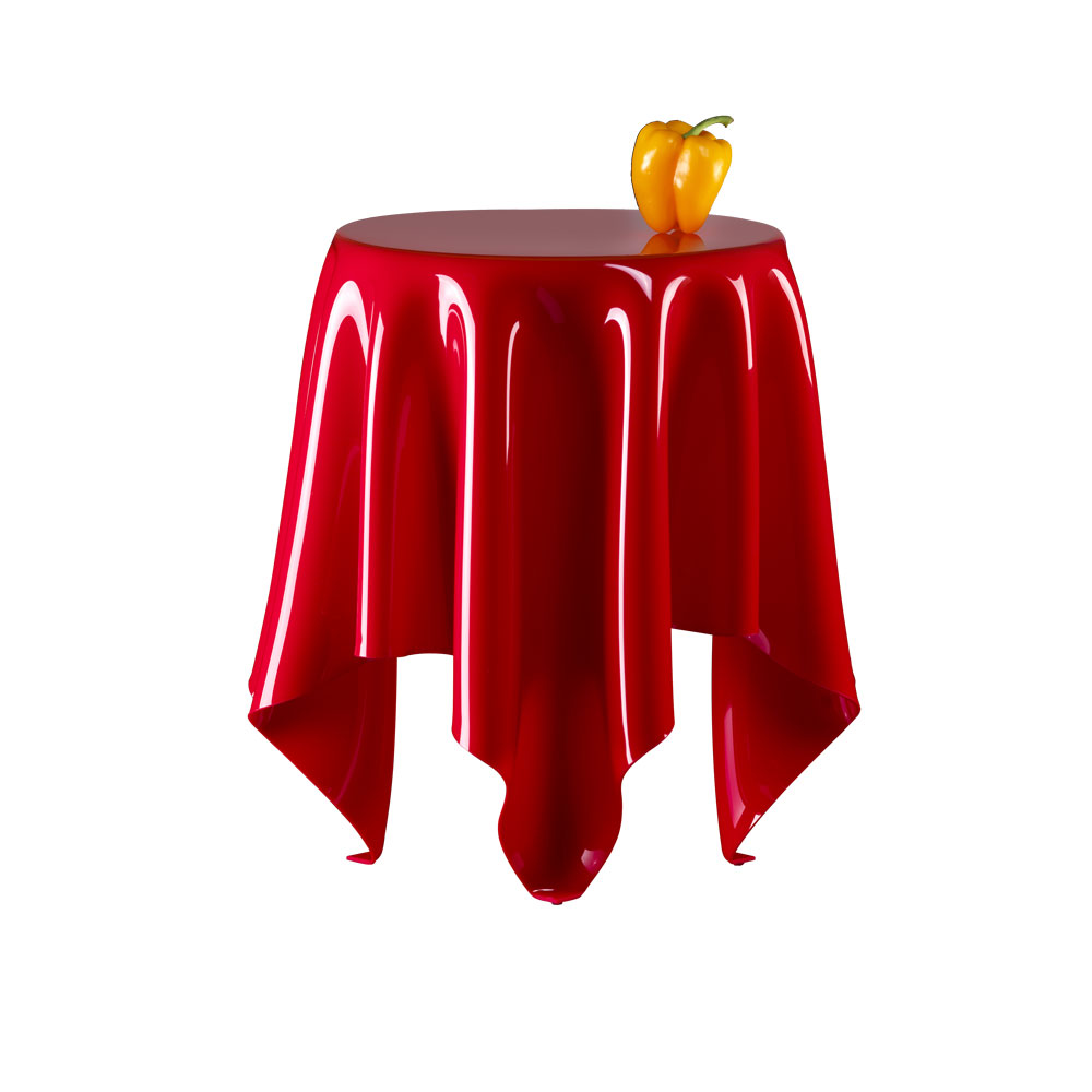 Essey Illusion Red Low Table Cloth Table ...