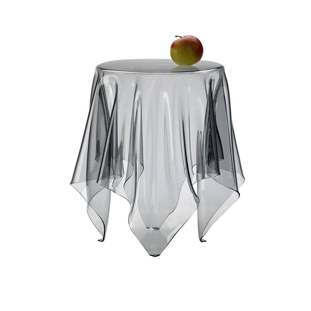 Elegant Essey Illusion Clear Low Table ...